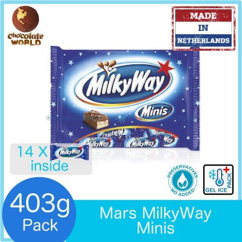 Mars MilkyWay Minis 14pcs FunPack 403g Milky Way (Made in Netherlands)