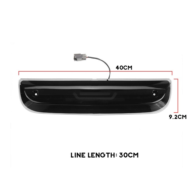 Car Lights - Smoked Black High Level LED Third Brake Light for 2014- Silverado/Sierra - Replacement Parts