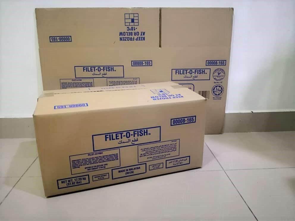 10pcs Printed Carton Boxes (L447 X W270 X H216mm)