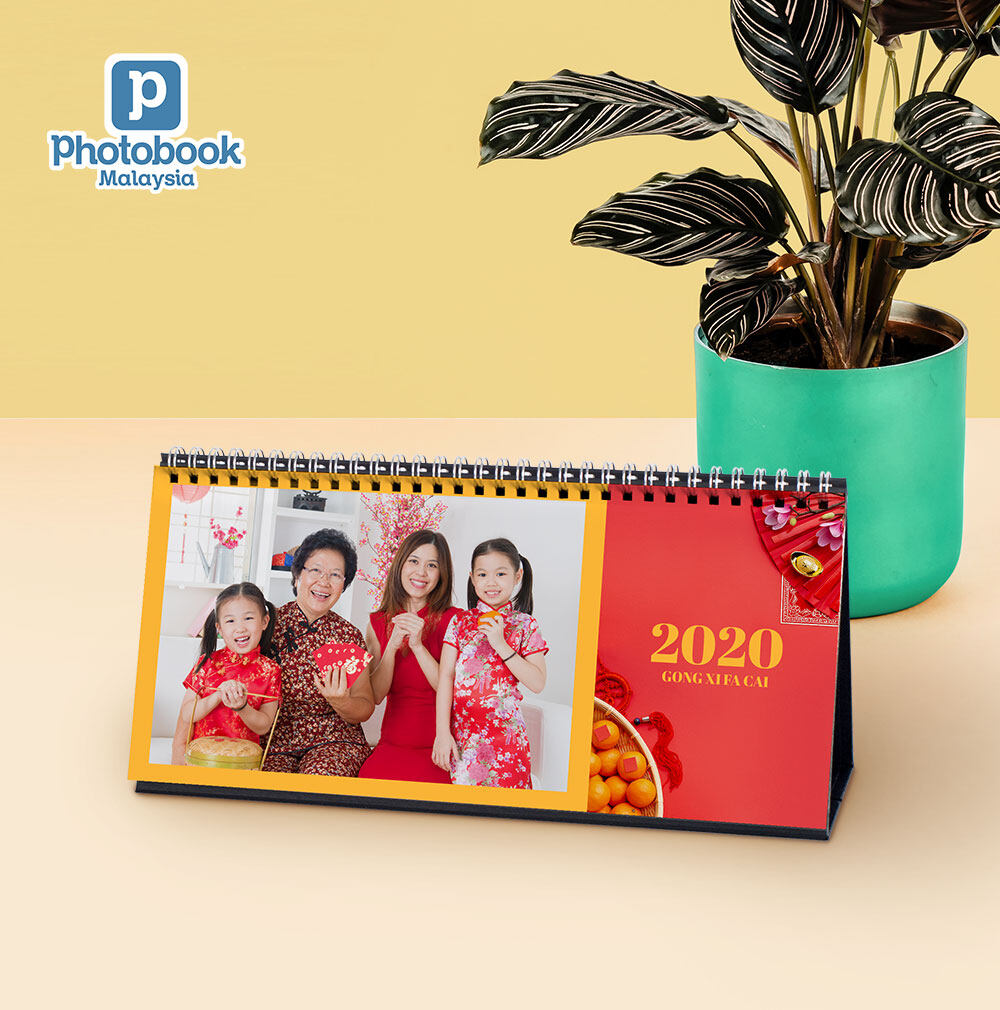 [e-Voucher] Photobook Malaysia 11 x 5 Desk Calendar