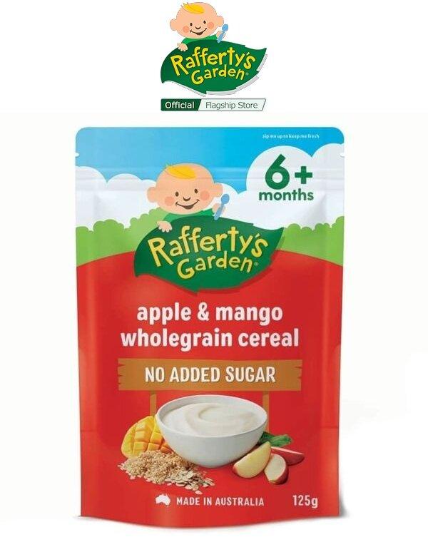 Rafferty\'s Garden Apple & Mango Wholegrain Baby Cereal Baby Rice