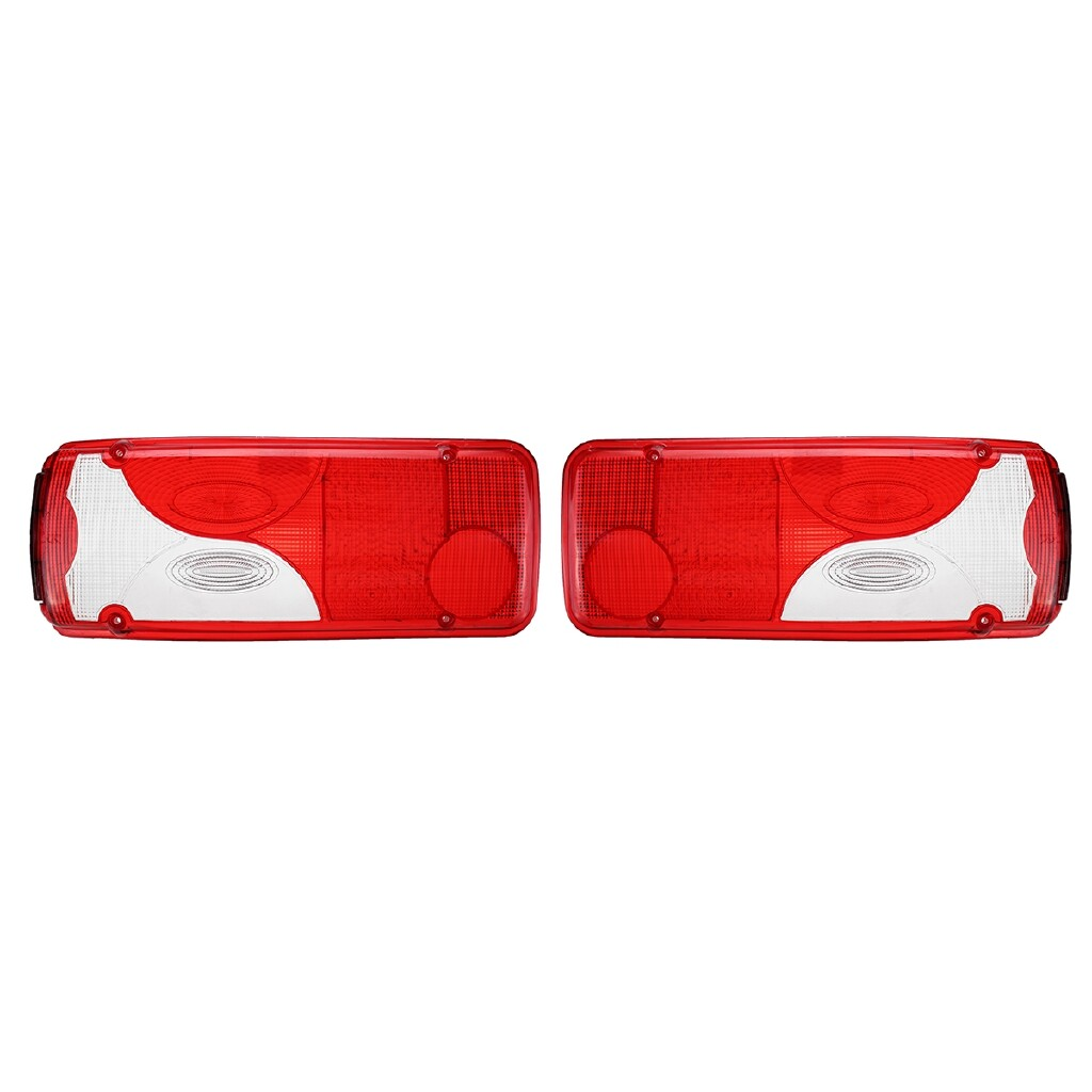 Car Lights - For Mercedes Sprinter Chassis Cab Rear Back Left LH/NS Right RH/OS Light Lens 2x - Replacement Parts