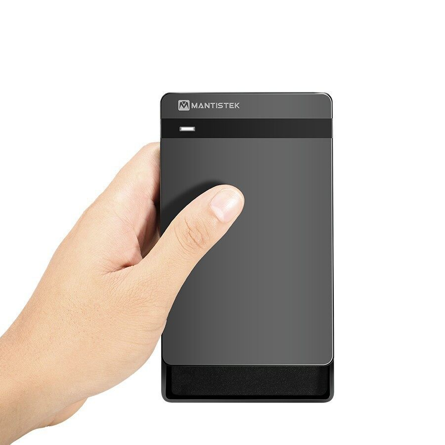 Cool Gadgets - MantisTek Mbox2.5 USB 3.0 SATA III HDD and SSD Enclosure External Case - Mobile & Accessories