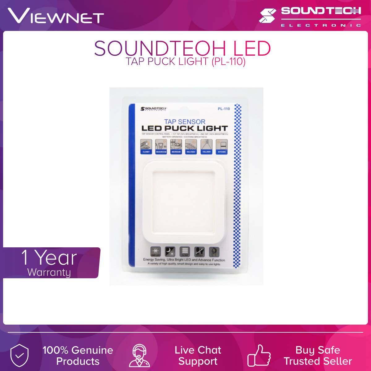 Soundteoh (PL-110) Led Tap Light