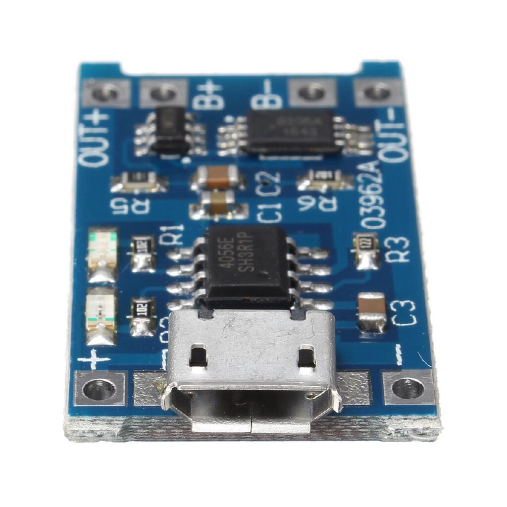 DIY Tools - 18650 lithium battery protection board 3.7v 3.6V 4.2V lithium battery charging board 1A overshoot - Home Improvement