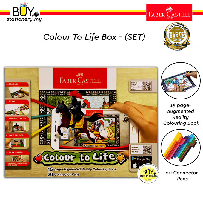 Faber Castell Colour to Life Set- (BOX)