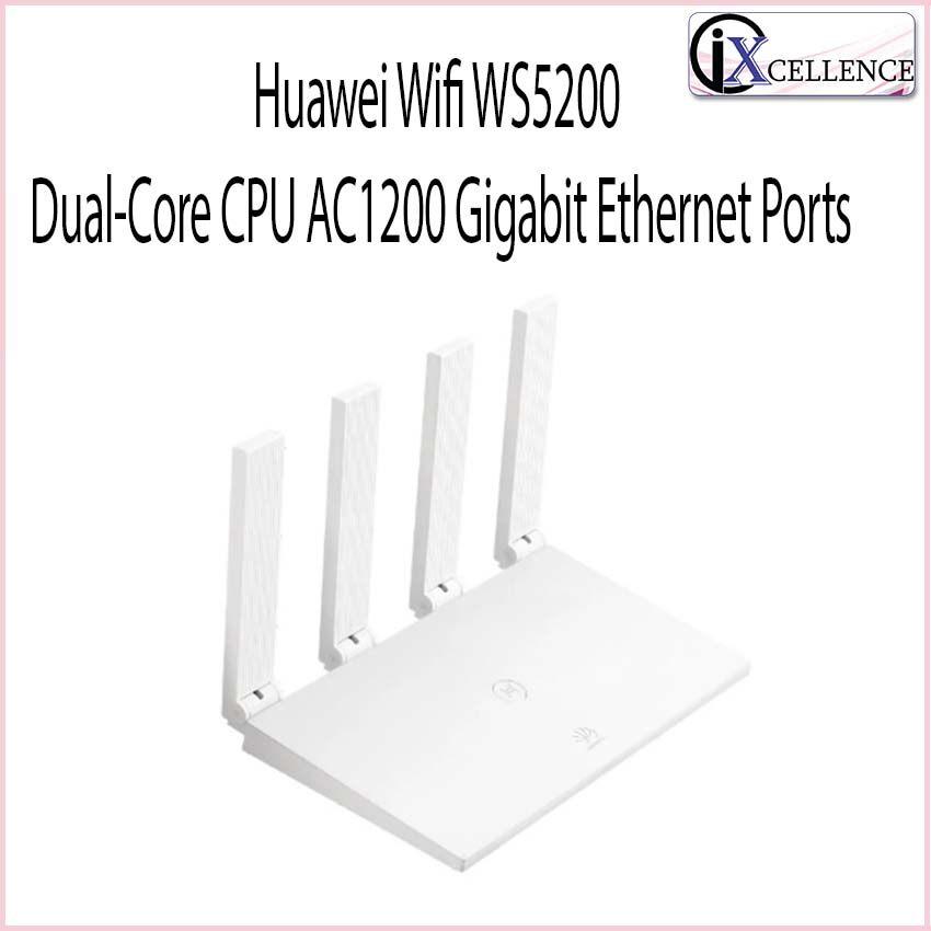 Huawei Wifi WS5200 Dual-Core CPU AC1200 Gigabit Ethernet Ports