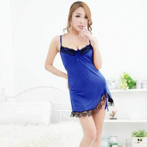 FREE SIZE SEXY LINGERIE / BABYDOLL JL0143 (BLUE)