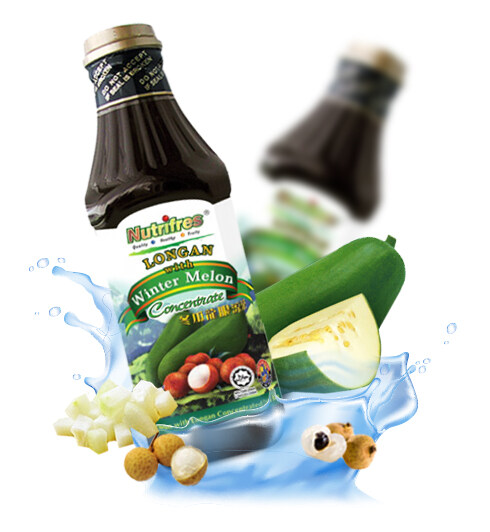 NutriFres Winter Melon with Longan Concentrate / Cordial 1L