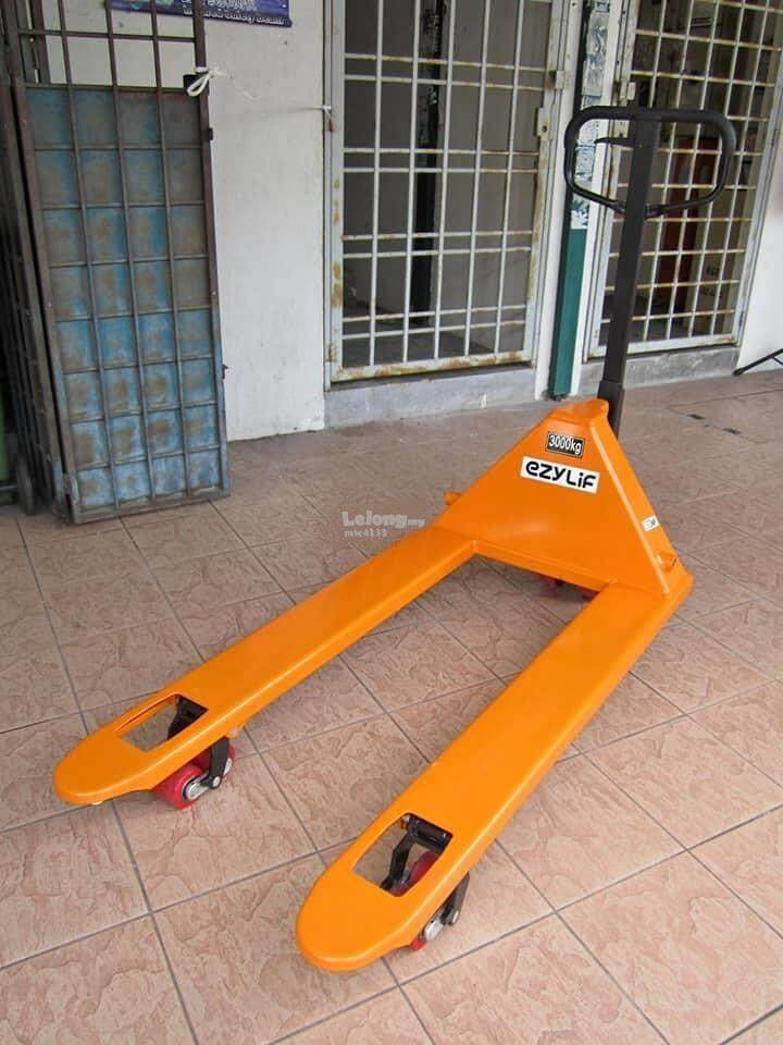 fork hydraulic jack stand 3Ton hand pallet truck lift cart machine pallet truck lift cart lifting Material Handling Equipment truck keep in out kit case load lift lifting car truck track move moving up down put take go portable mobile heavy hand pull push