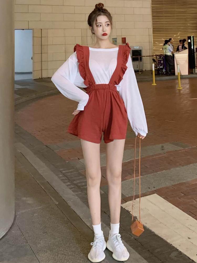 (PRE ORDER) WOMEN CASUAL LACE 2 PIECES CLOTHS