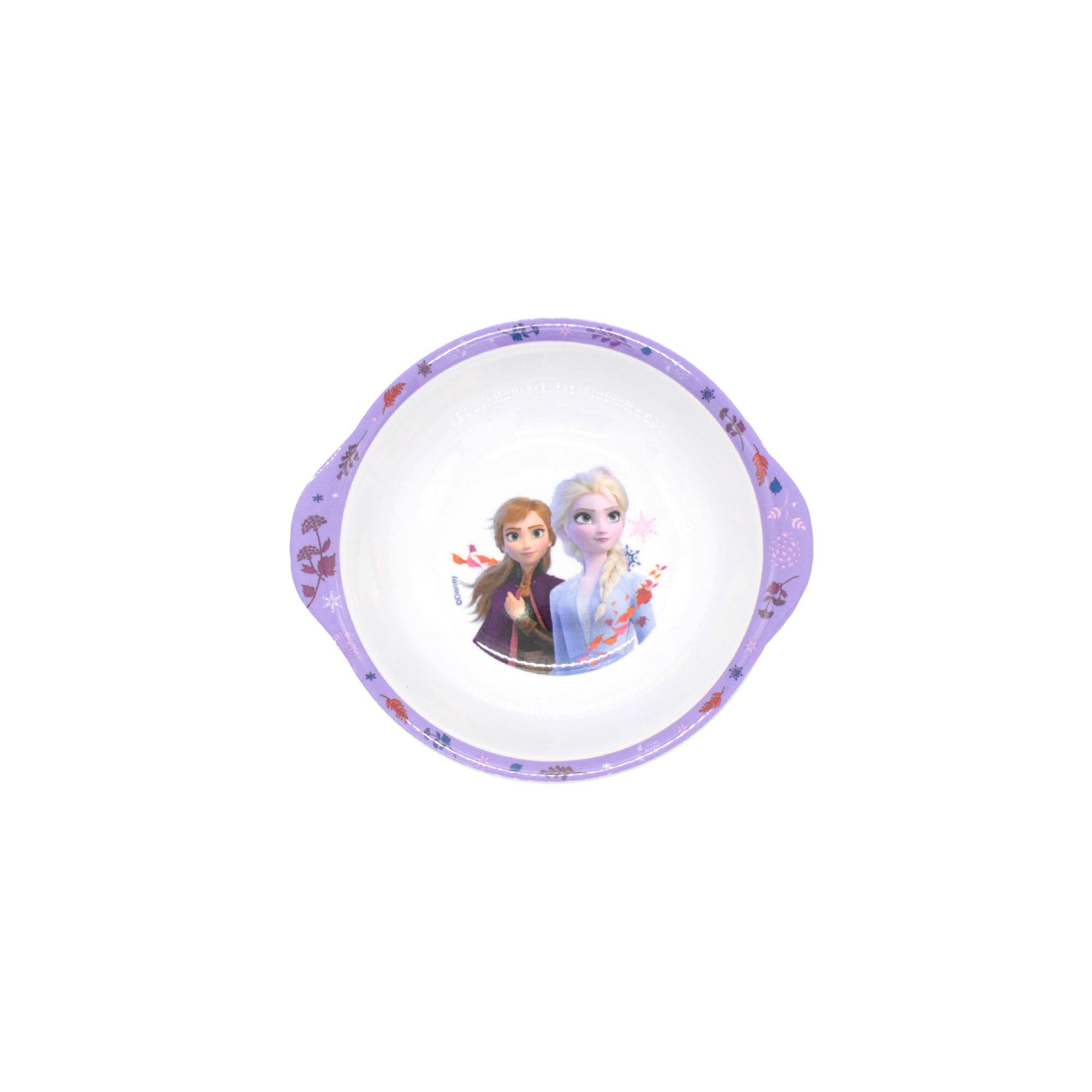 Disney Princess Frozen 2 : 6 Inches Handle Bowl - White Colour