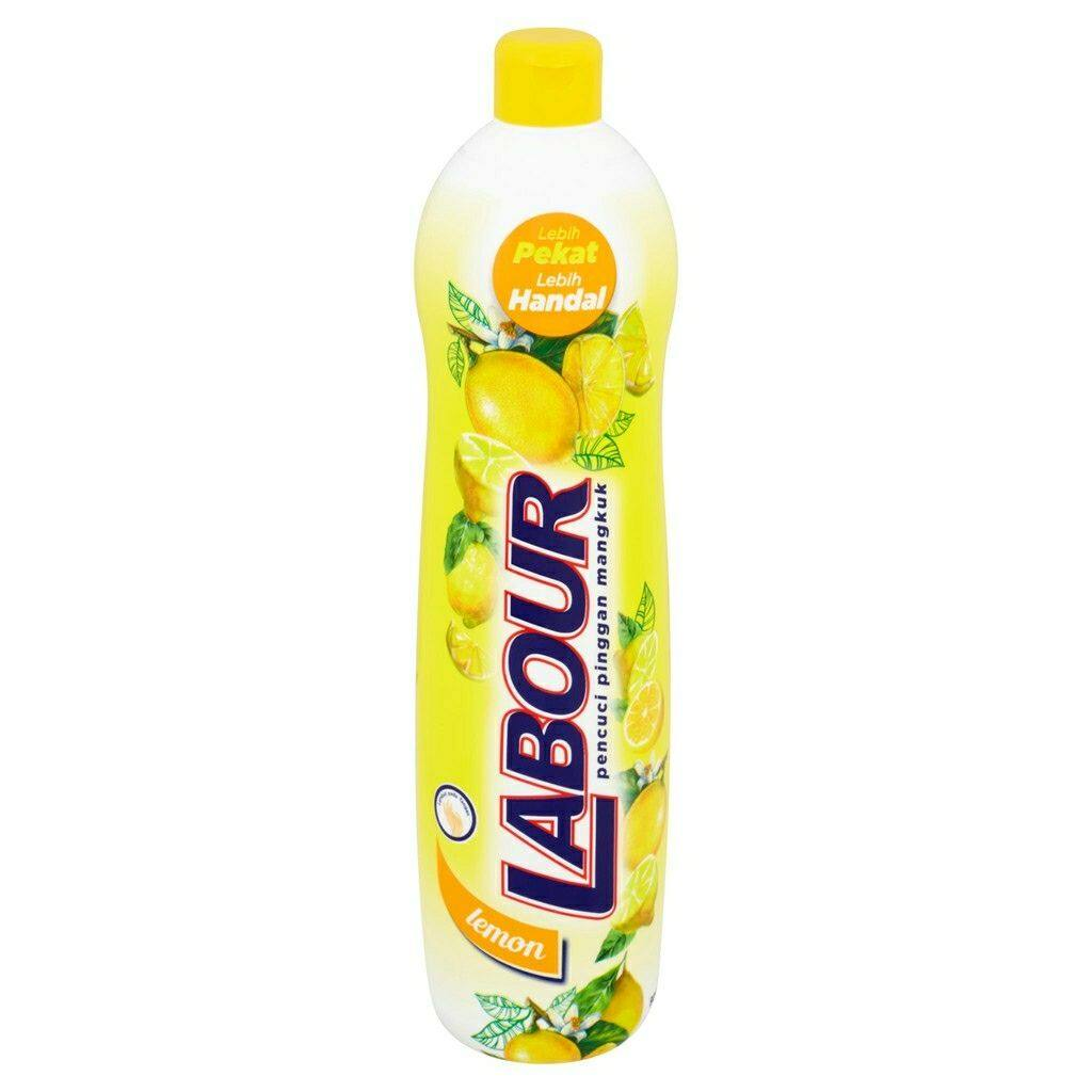 Labour Dishwashing Liquid (900ml) Lemon
