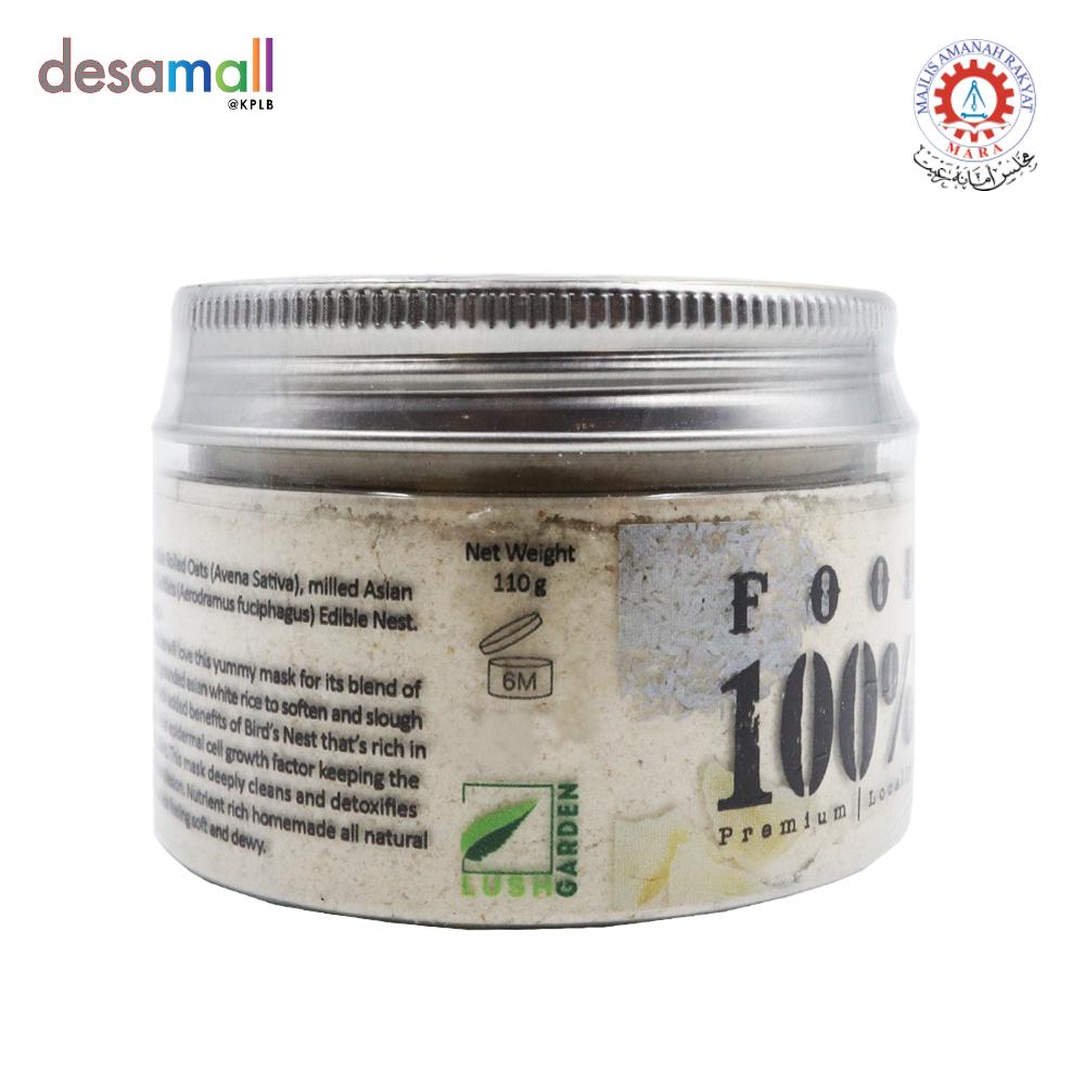 KULIT KULTURE Foodmask 100% Oat & Rice + Bird's Nest (110g)