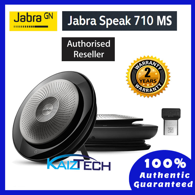[Ready Stock] Jabra Speak 710 MS / UC Portable Speakerphone with Jabra Link 370