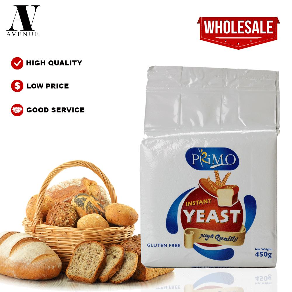 Primo Instant Yeast 450 g Yis Segera Ragi Ibu Roti خميرة الخبز