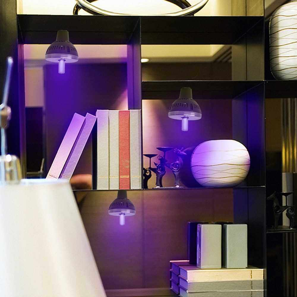 Best Selling UV Dis-infectant Light E27 UVC Light Bulb Ultraviolet Sterili-zer Lamp Germicidal Lamp Bulb UV Dis-infectant Lamp (Standard)