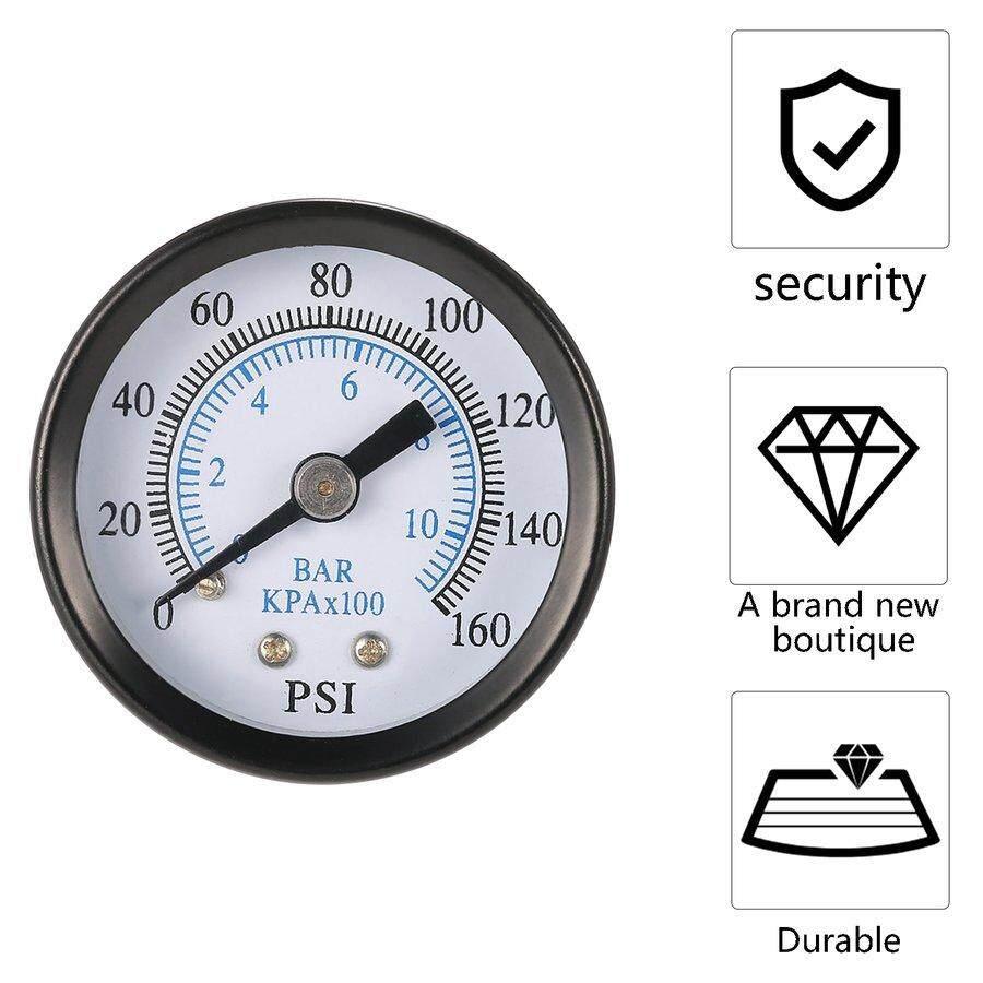 DIY Tools - Elc Professional 1/8 Inch 160Psi 0-10bar Compressor Compressed Air Pressure Gauge - Home Improvement