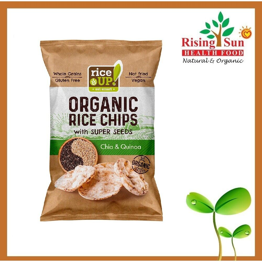 Rice Up Organic Rice Chips With Super Seeds Chia & Quinoa 25G