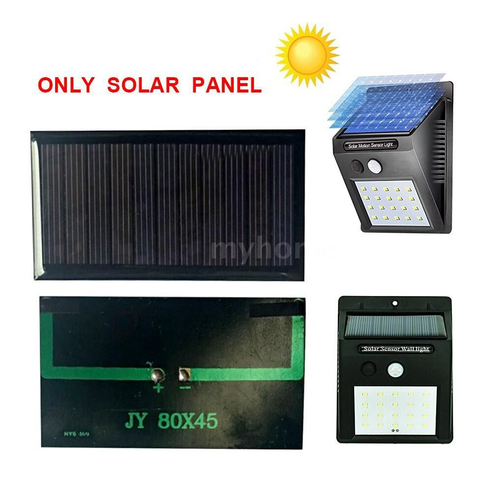 Lighting - Solar Panel Epoxy Cells for Wall Lamp Solar Power Supplement DIY Charging Device - #