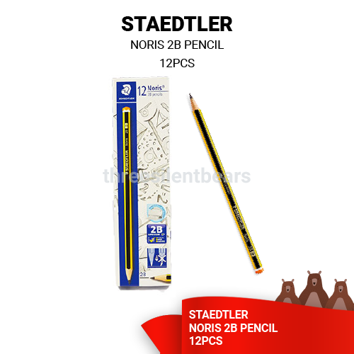 STAEDTLER NORIS 2B PENCIL (12PCS/PACK) - READY STOCK -FAST SHIPPING - VALUE BUY