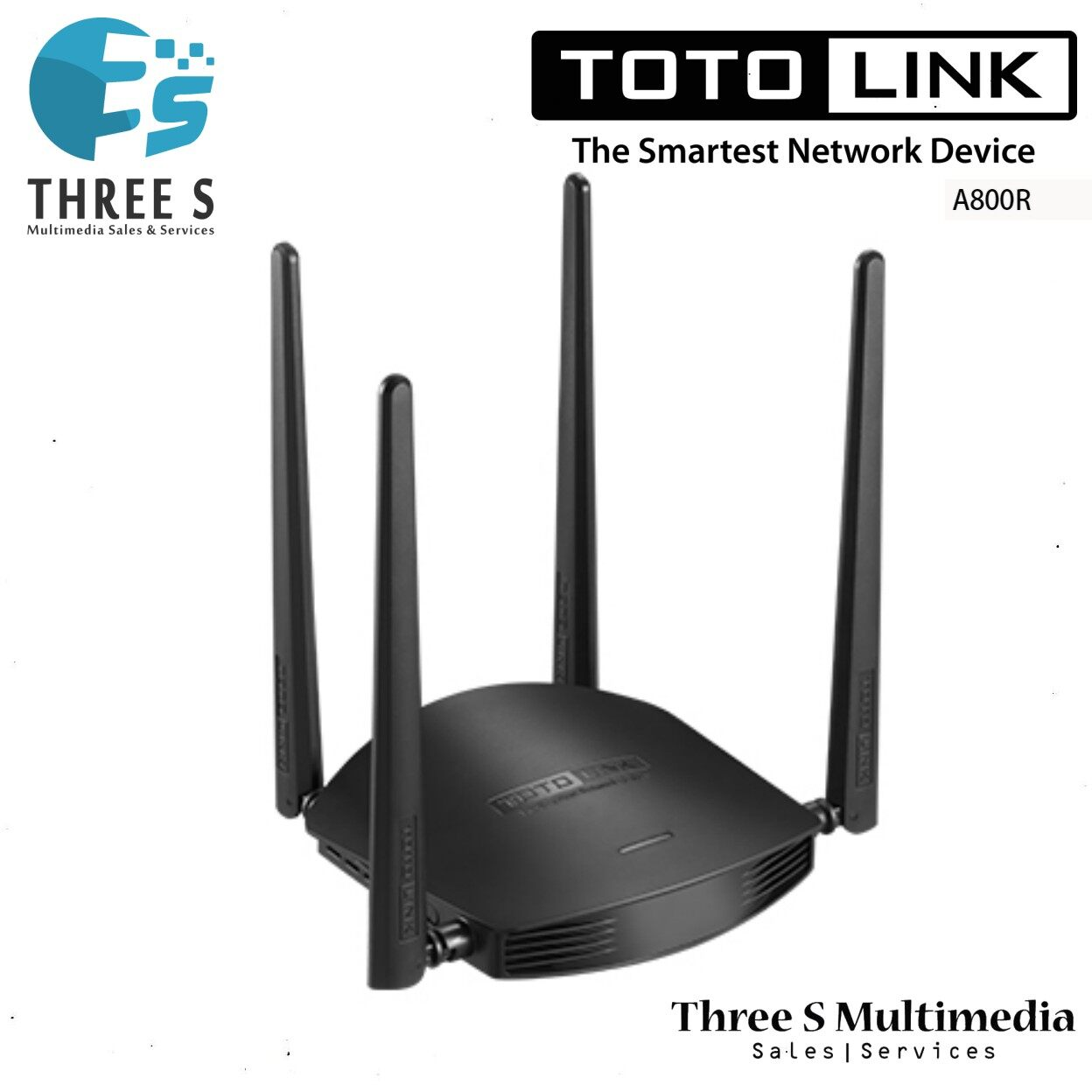 TOTO LINK AC1200 Wireless Dual Band Router A800R