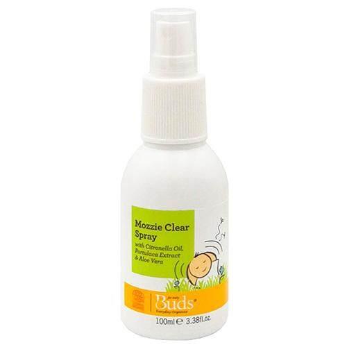 Buds Everyday Organics Mozzie Clear Spray 100ml