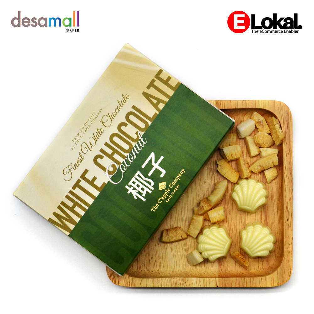 C'APPLE White Chocolate - Coconut (70g)