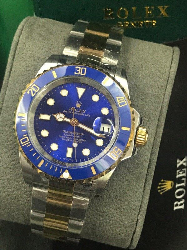 New Rolex_Oyster Perpetual_Submariner_ Atomatic Stainless Steel Man Wrist Watch With Free Genuine Gift Box