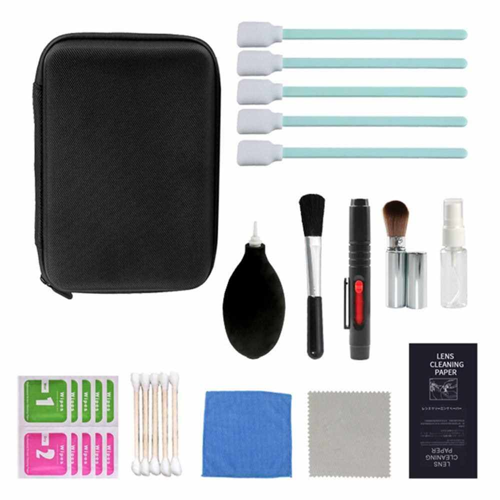 Camera Cleaning Kit for Cleaning DSLR Camera Sensor Lens Accessories Camera Maintenance Tools with Carrying Case (Standard)