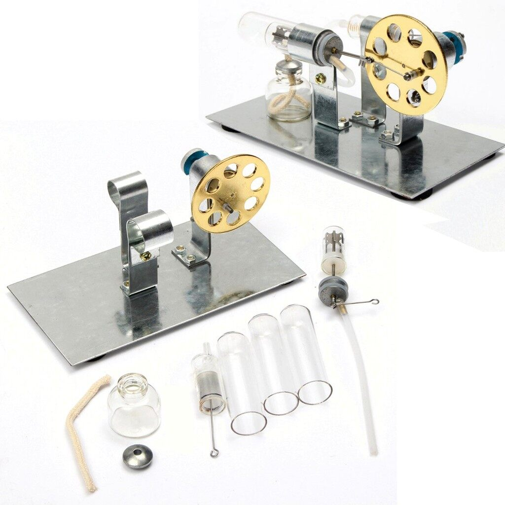 Gadgets - Air Stirling Engine Model Power Generator Educational Steam Power Toy - Cool