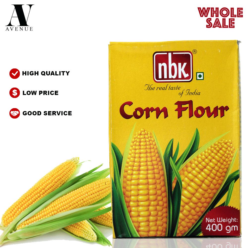 NBK Corn Flour 400 g دقيق الذرة Tepung Jagung