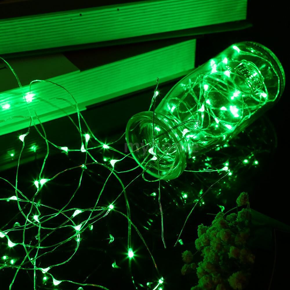 Lighting - 12W 20M/65.6Ft 200 LEDs Solar Powered Energy Copper Wire Fairy String Light Lawn Lamp with 8 - TYPE 5 / TYPE 4 / TYPE 3 / TYPE 2 / TYPE 1