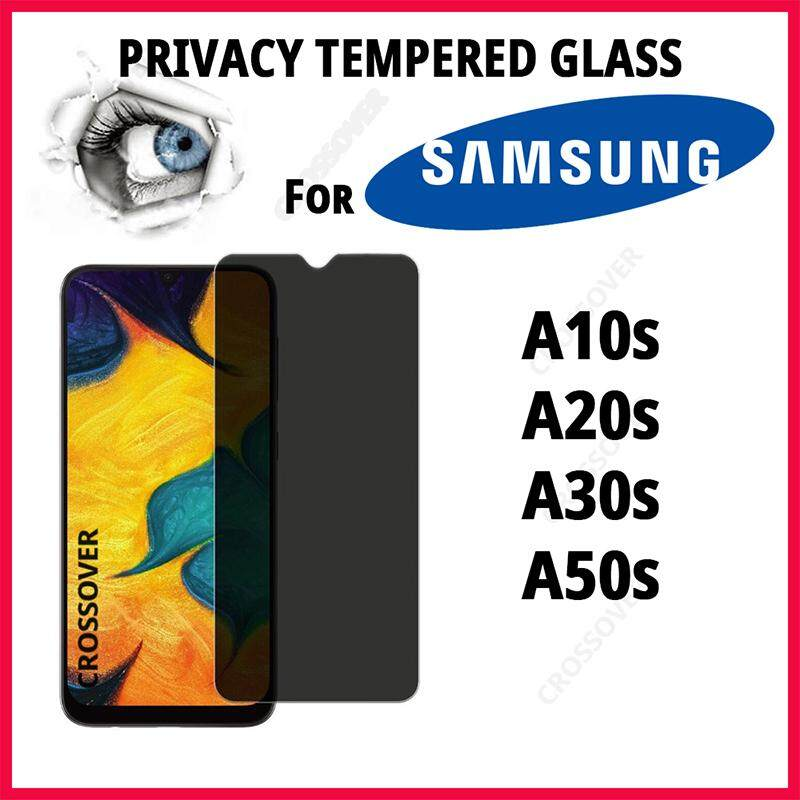 Samsung A50s A30s A20s A10s Privacy Tempered Glass Screen Protector Anti-Spy