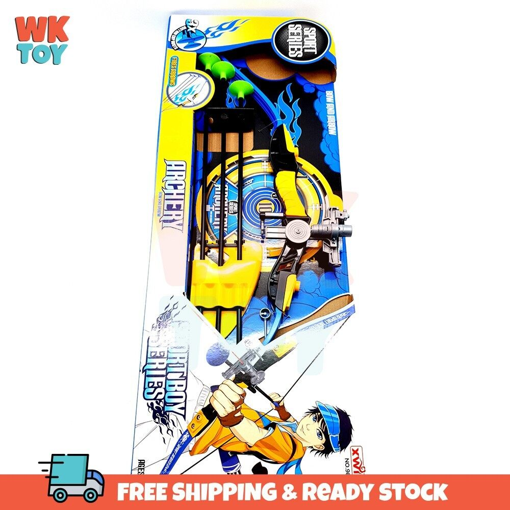 WK Archery Bow Arrow Set with red dot light Sports Toy Kids and Hunting Series Sport
