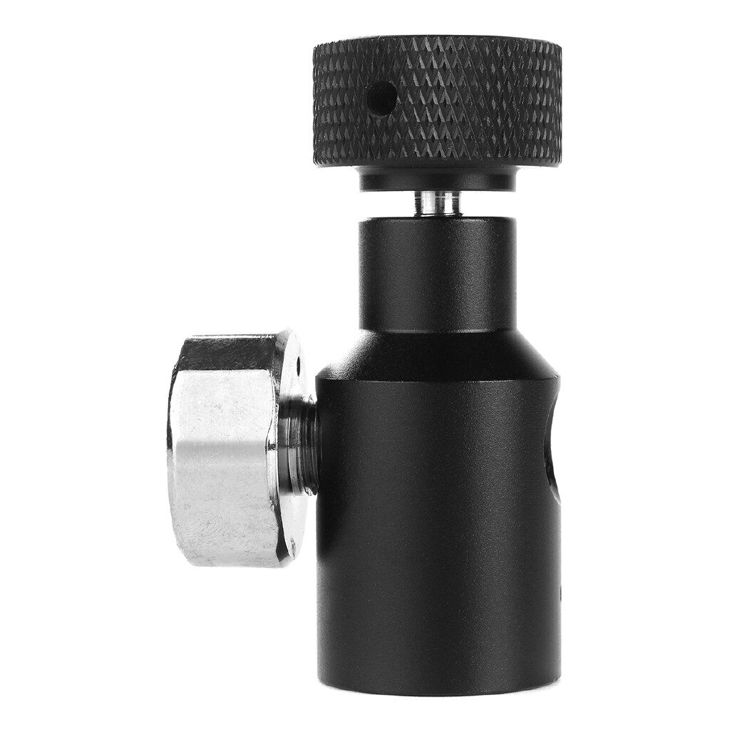 Gauges & Meters - Paintball Co2 Adapter Air Regulator Fill Station On/Off 3000psi Gauge 1/8 NPT AutoP - Car Accessories