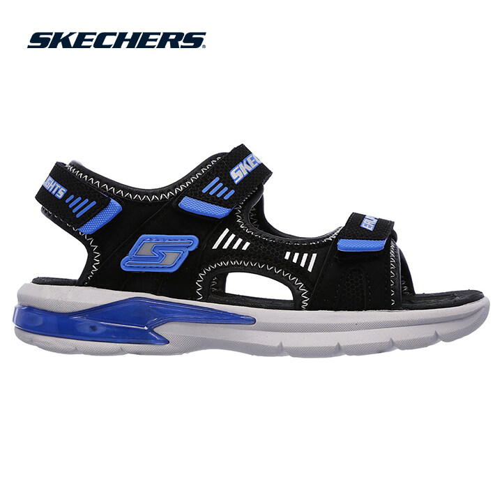 Skechers E-Ii Sandal Boys Lifestyle Shoe - 90555L-BKRY