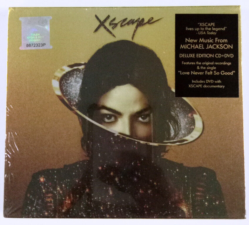 Michael Jackson - Xscape Deluxe Edtion CD+DVD