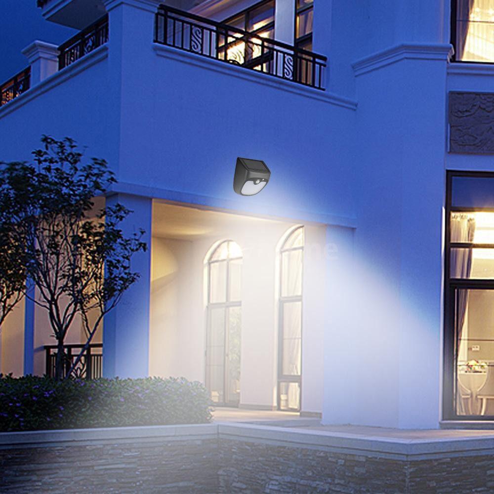 Outdoor Lighting - Solar LED Light Rechargeable 12 LEDs Motion Sensor Outdoor Waterproof Garden Lamp Decoration Night - #