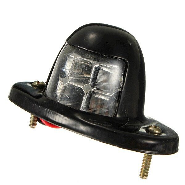 Car Lights - Number License Plate Rear Tail Light Truck Trailer - Replacement Parts