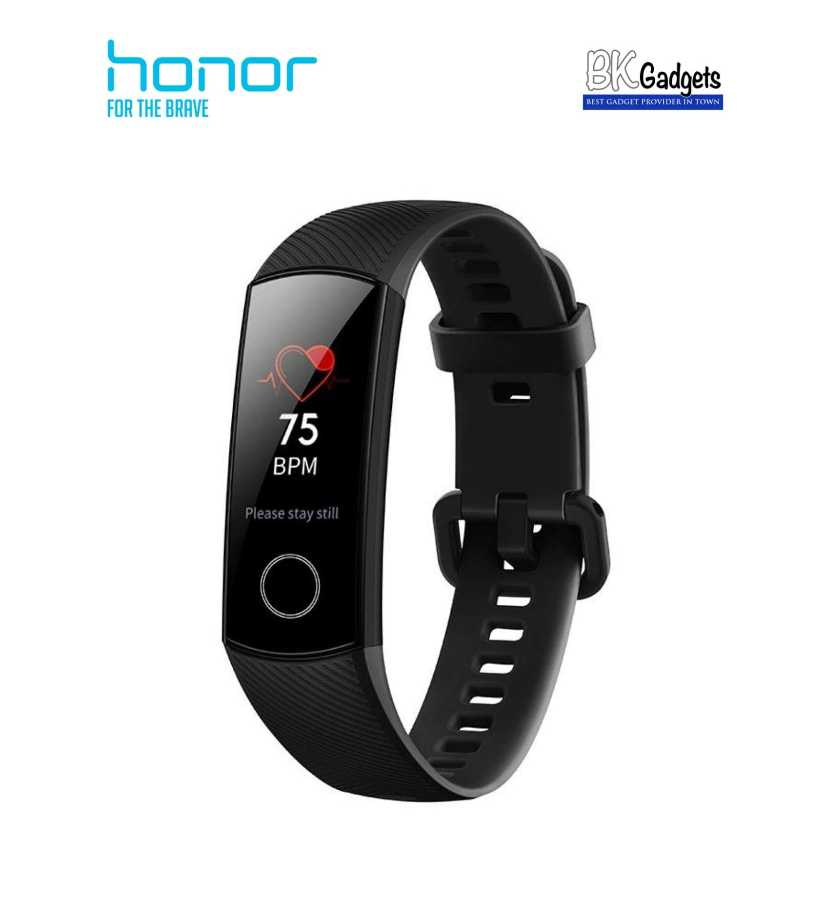 Honor BAND 4 AMOLED color screen Smart Wristband Wearable Fitness Tracker [ Meteorite Black ]