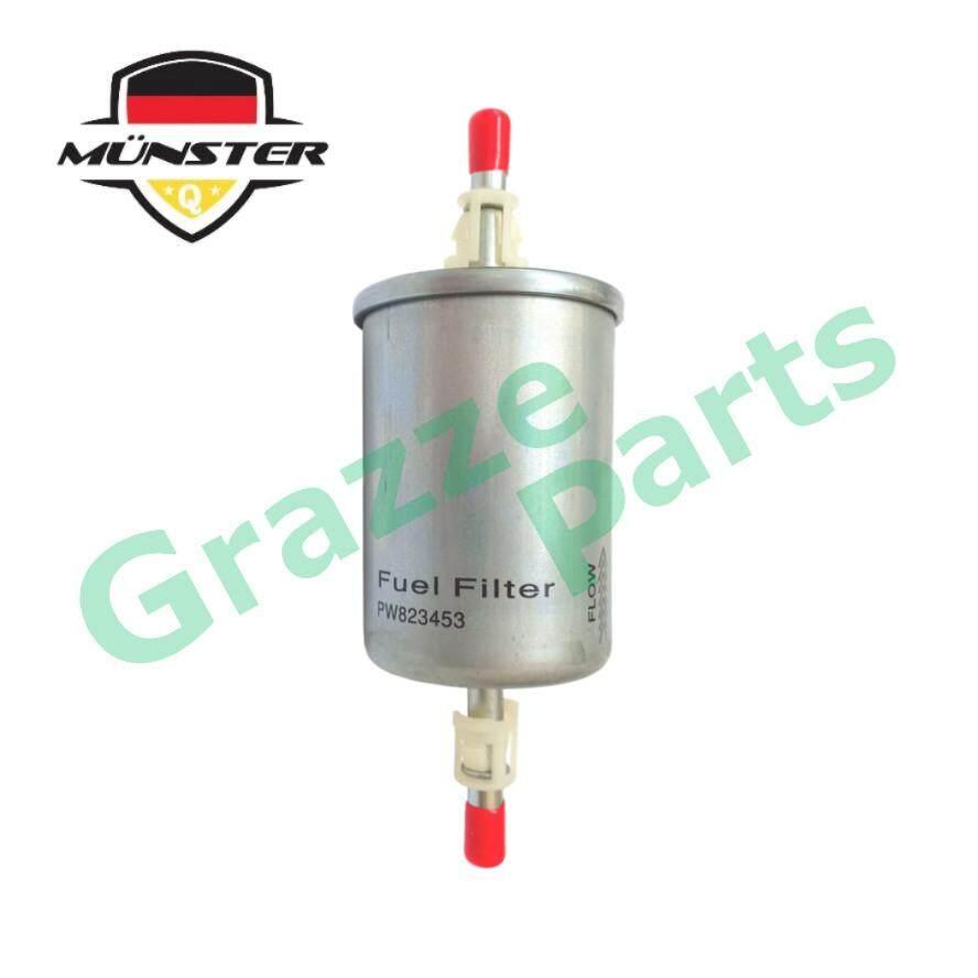 Münster Petrol Fuel Filter PW821376 for Proton Gen 2 Saga BLM FL FLX CPS Persona Waja Satria Neo Exora Savvy Gen2 Preve Suprima S