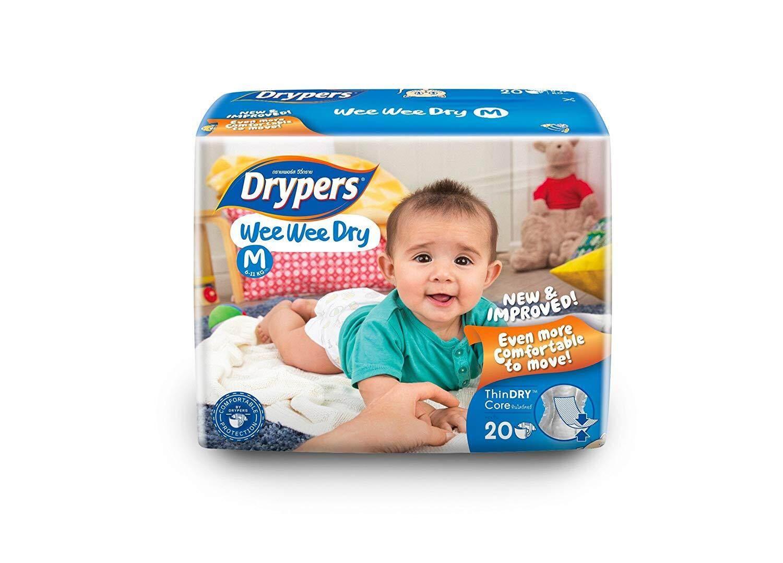 [BABY DIAPER] Drypers Wee Wee Dry - M (20pcs)