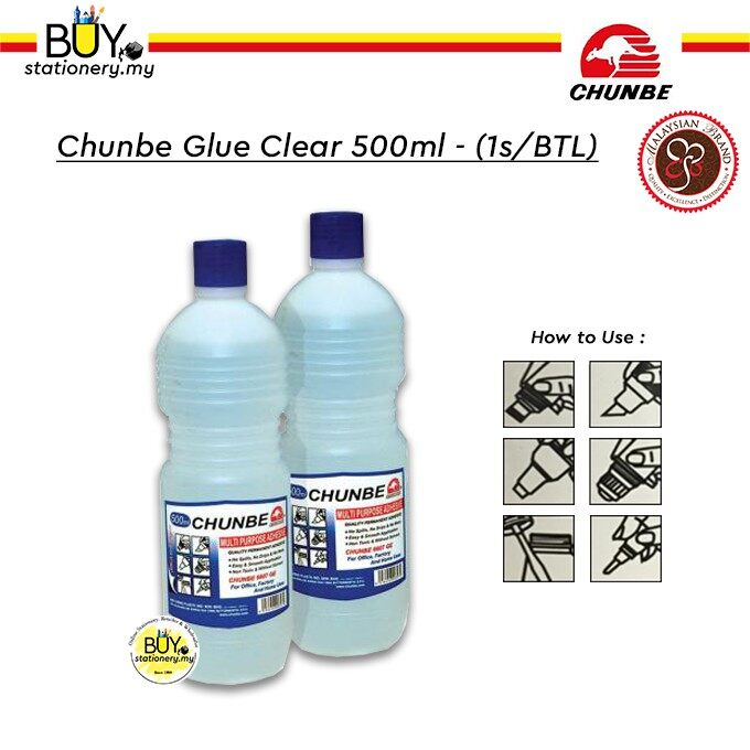 Chunbe Glue Clear 500ml - (1s/BTL)