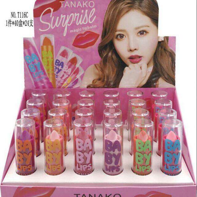 FREE GIFTLIPBALM MAGIC TANAKO 24pcs/box