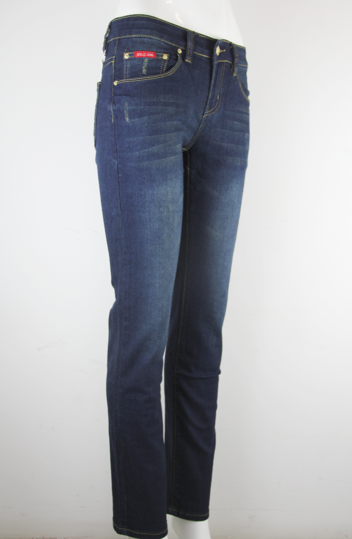 GOGGLES Ladies Denim Jeans Regular Fit Dark Blue 100363