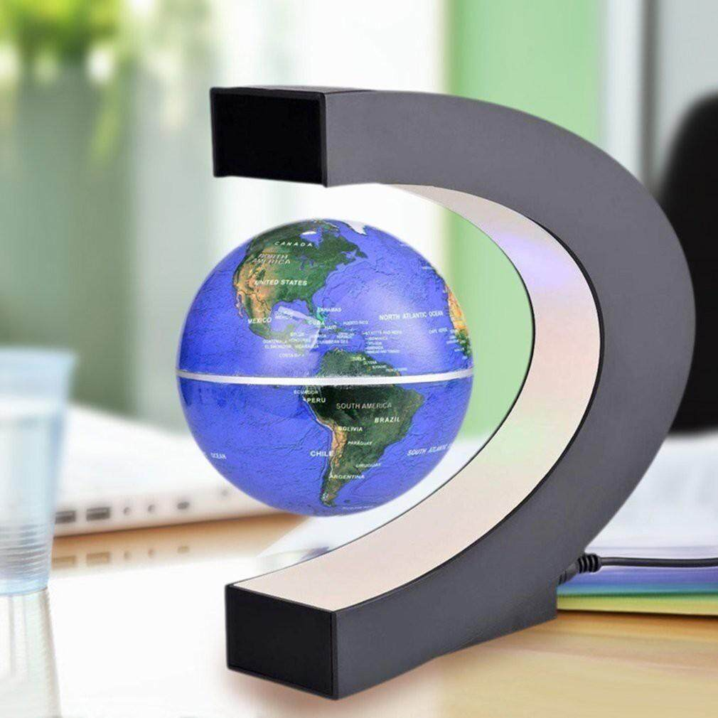School & Office - High Tech Antigravity Floating Magnetic Globe with LED Light Gift Decoration - Stationery