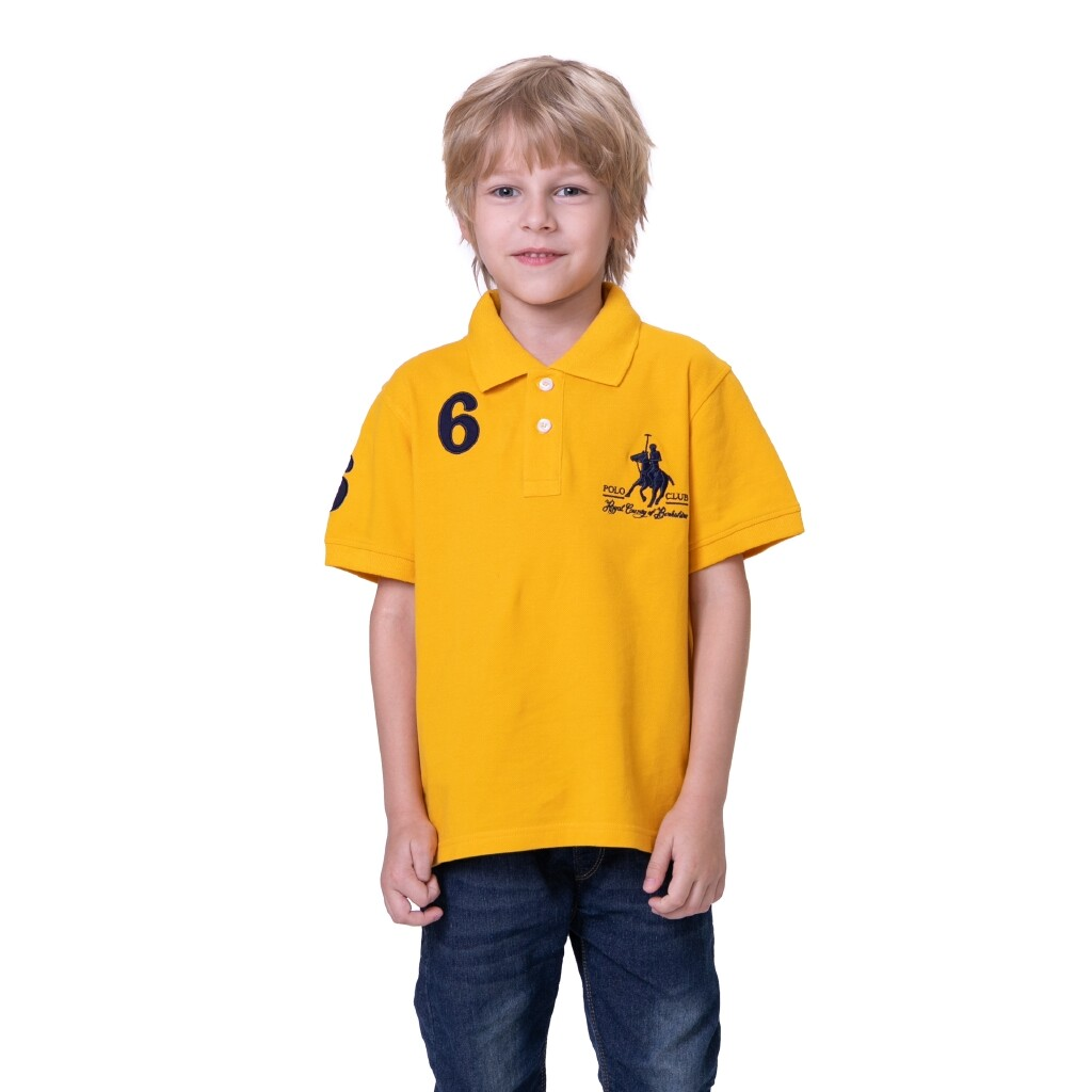 RCB POLO CLUB KIDS POLO TEE SOLID RBTS10336