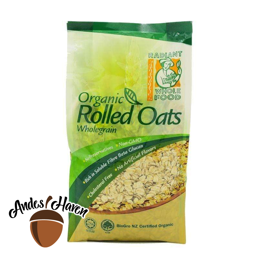 【Radiant】Organic Rolled Oats - 500g