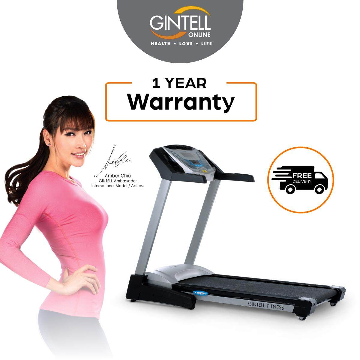 GINTELL CyberAIR Compact Treadmill FT460 (New)